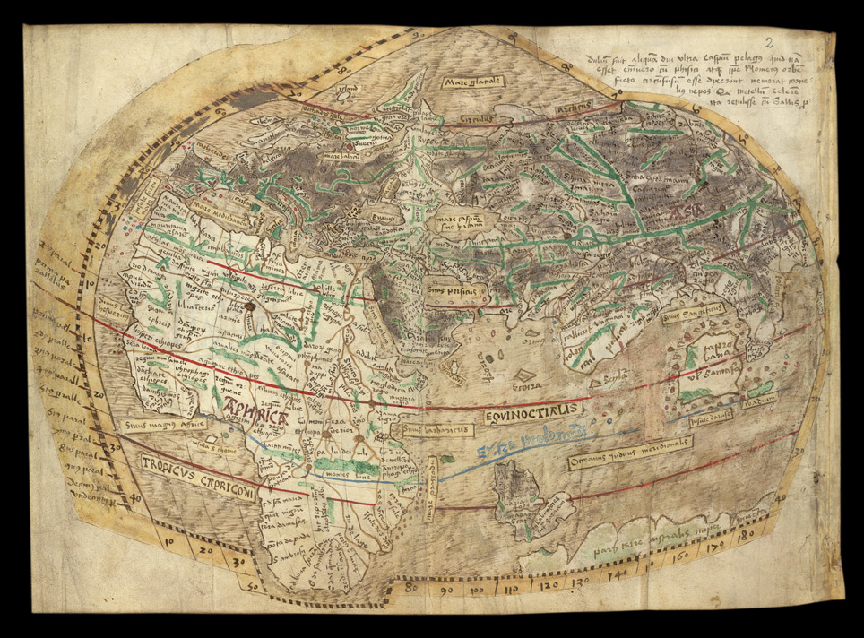 Map of the World f.1